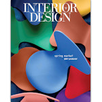 Cover of the Interior Design, Spring 2015 Market Tabloid