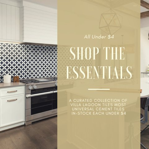 Villa Lagoon Tile's Essentials Collection